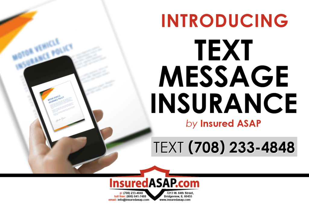 text message insurance illinois